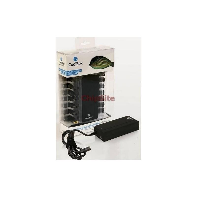 Carregador universal CoolBox 90W C/ USB