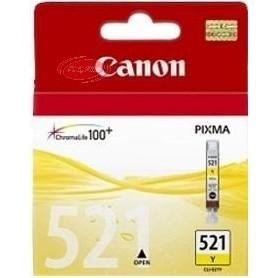 Canon Tinteiro Amarelo CLI-521Y