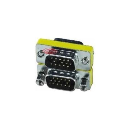 RedLine Mini Adaptador de VGA Macho a VGA Macho