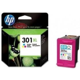 HP Tinteiro Tricolor Nº 301XL