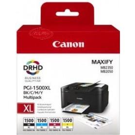 Canon Tinteiros Multipack de cores PGI-1500XL
