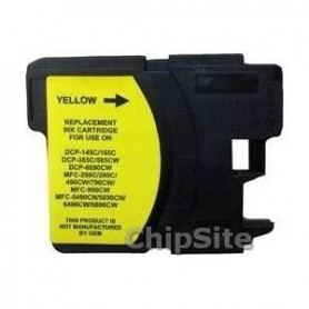 Brother LC980XL/LC1100XL/LC985XL Yellow Compativel