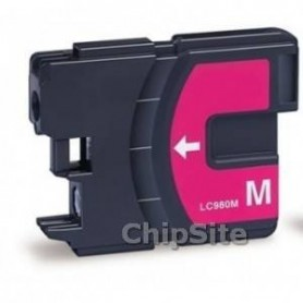 Brother LC980XL/LC1100XL/LC985XL Magenta Compativel