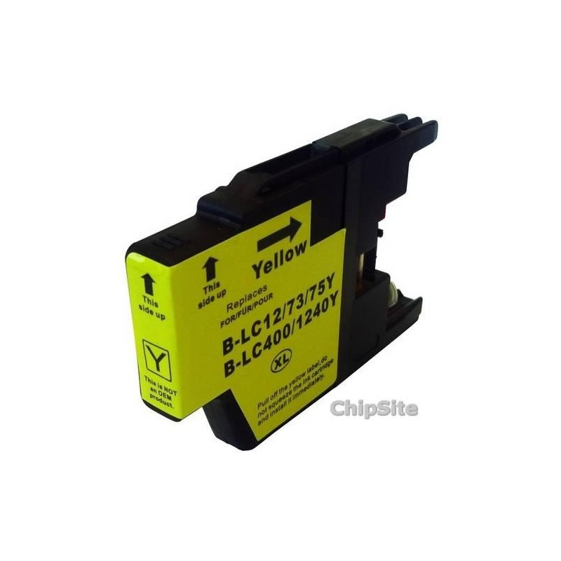 Compativel Brother LC1240 Y XL