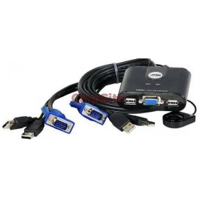 ATEN KVM Petite USB 2 Switch - CS22U