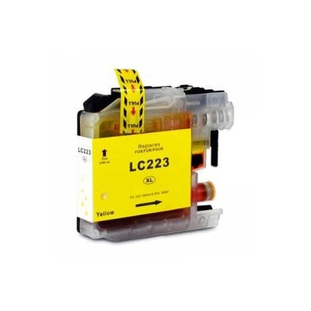 Brother LC223 / LC 221 Yellow Compativel