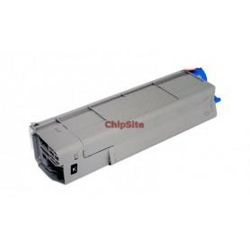 OKI 43865724 Black C5850 / C5950 / MC560 Toner Compativel