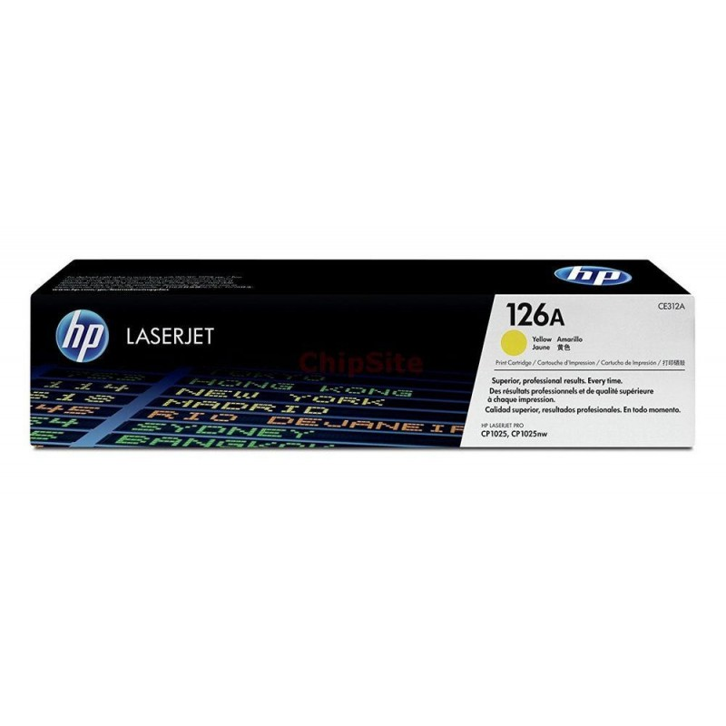 HP 126A Yellow (CE312A)
