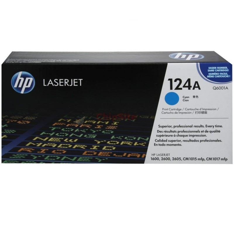 HP Color LaserJet 124A Cyan (Q6001A)