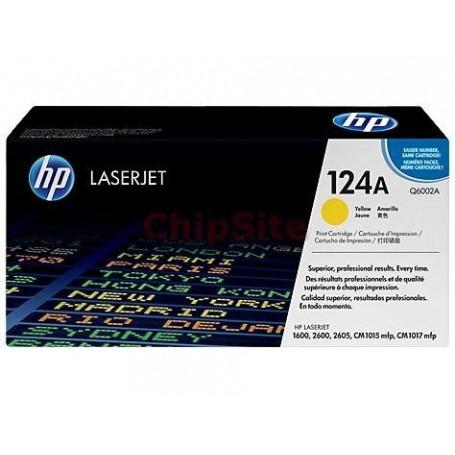 HP HP Color LaserJet 124A Yellow (Q6002A )
