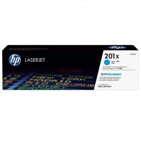 HP 201X High Capacity Cyan (CF401X)