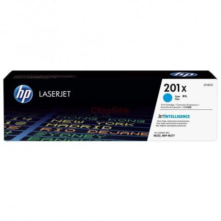 HP 201X High Capacity Cyan (CF401X)