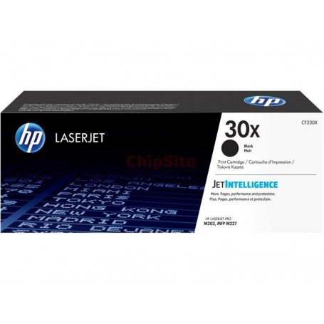 HP 30X High Capacity Black (CF230X)