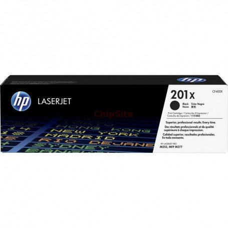 HP 201X High Capacity Black (CF400X)