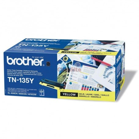 Brother TN135Y Yellow