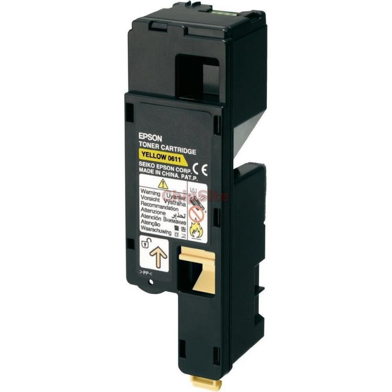 EPSON ACULASER C1700/CX17 Yellow C13S050611 Toner Compativel