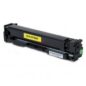 HP 201X Yellow CF402X Toner Compativel