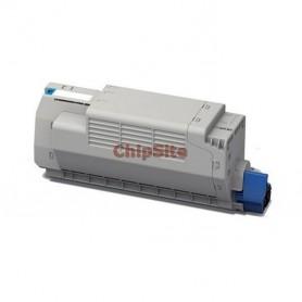 OKI 41963007 Cyan C7100 / C7300 / C7350 / C7500 Toner Compativel