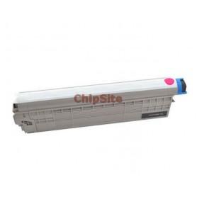 OKI 44643002 Magenta C801DN / C821DN Toner Compativel