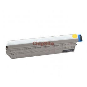 OKI 44643001 Yellow C801DN / C821DN Toner Compativel