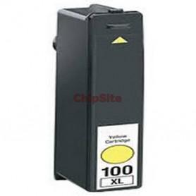 Lexmark 100XL Yellow 14N1071E Tinteiro Compativel