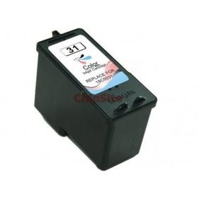 Lexmark 31 TRICOLOR 18C0031E Tinteiro Compativel