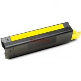 OKI C5100 / C5200 / C5400 / C5250 / C5450 / C3100 / C3200 Yellow Drum Compativel