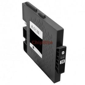 Ricoh 405688 Black Tinteiro Compatível GC31K