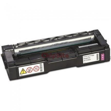 Ricoh Aficio 407533 MAGENTA Tinteiro Compatível SP-C252DN/SP-C252SF