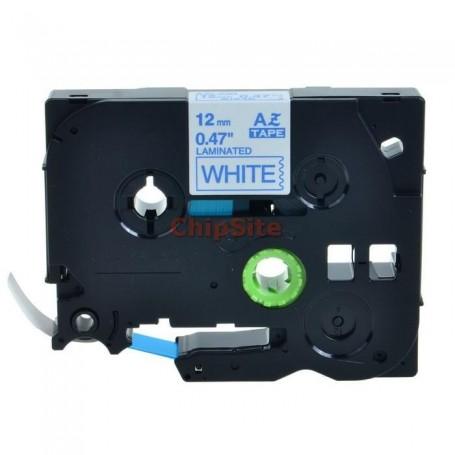Brother TZE-233 Blue / White Fita Laminada Compatível