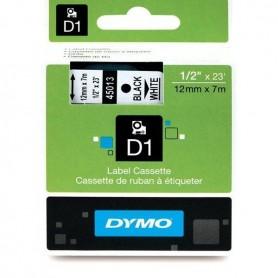 DYMO 45013 Black/White Fita Laminada Compatível
