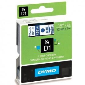 DYMO 45014 Blue/White Fita Laminada Compatível