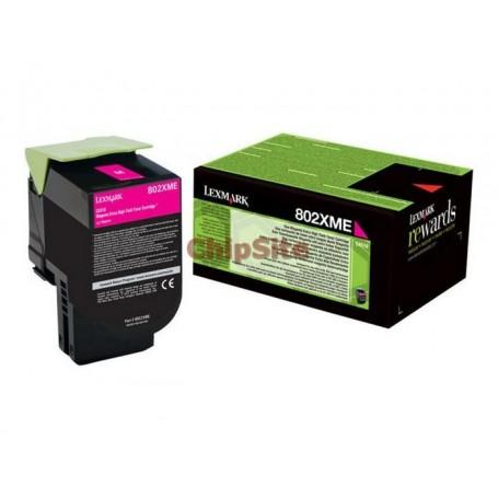 Lexmark 80C2XME Magenta 802XM Toner