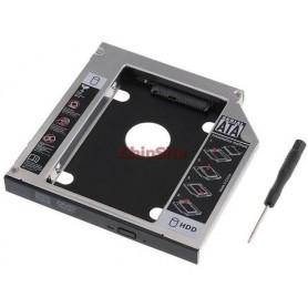 Caddy - Nanocable Adaptador para Disco/SSD para portatil de 12,7 mm