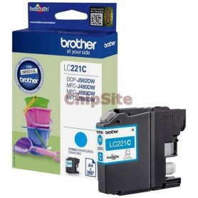 Brother LC221C Cyan
