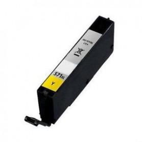Tinteiro Compativel Canon CLI571XL Yellow 0334C001 / 0388C001