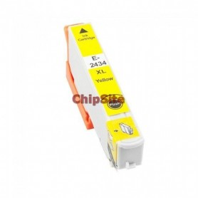 EPSON T2434/T2424 (24XL) Yellow C13T24344010/C13T24244010 Tinteiro Compativel