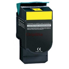 Lexmark CX310/CX410/CX510 Yellow 80C2SY0 802SY Toner Compativel