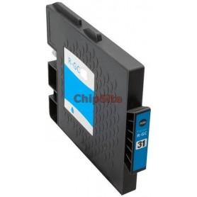 Ricoh 405766 / 405762 Cyan Tinteiro Compatível GC41