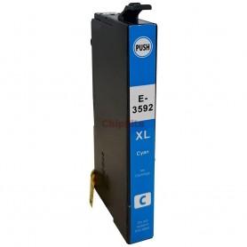 Epson 35XL T3592/T3582 CYAN Compativel