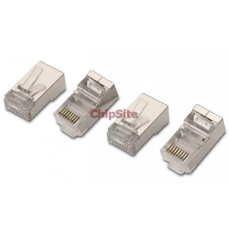 Nanocable Ficha RJ 45 Cat.5e (Pack 10 Uni.)