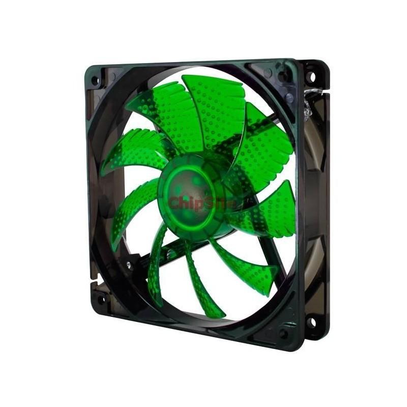Nox Coolfan 120mm LED Green