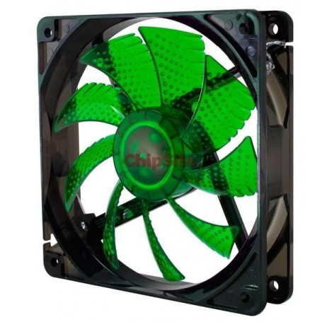 Nox Coolfan 120mm LED Green