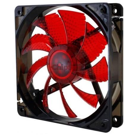 Nox Coolfan 120mm LED Red
