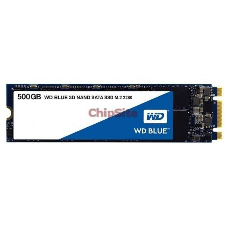 SSD M.2 Western Digital Blue 500GB 3D NAND SATA