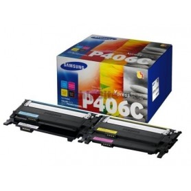 HP / Samsung C406 Value Black +Cyan+Magenta +Yellow (SU375A)