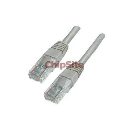 Cabo Rede Switch CAT6 2 Metros Beige