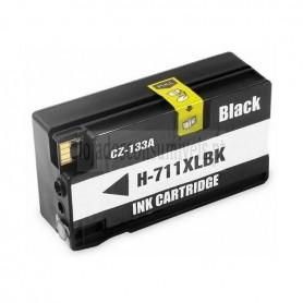HP 711XL V4/ V5 Black CZ133A/ CZ129A Compatível Premium