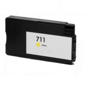 HP 711 V4/ V5 Yellow CZ132A Compatível Premium