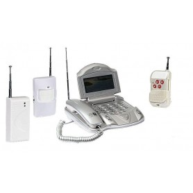 Kit De Alarme Para Casa Wireless 100 m